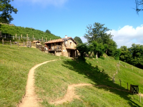 A smallholding in Asturias